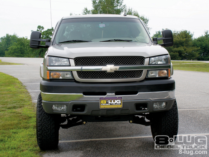 2004 Chevrolet Silverado 2500Hd Front View