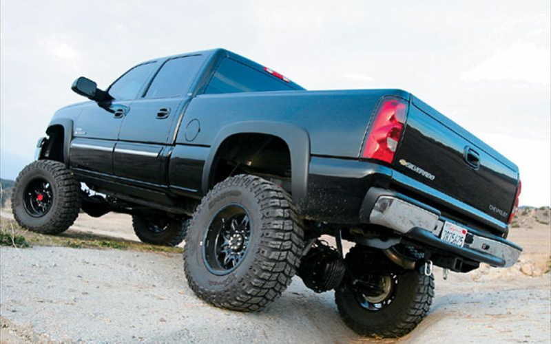 2005 Chevrolet 2500Hd Duramax Diesel Rear Driver Side View