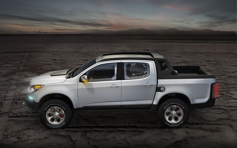 "about the U.S.? Chevrolet Shows Second, ""Rally"" Colorado Pickup ..."