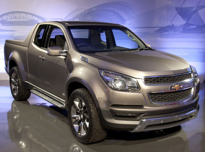 New Chevy Colorado Pickup Confirmed