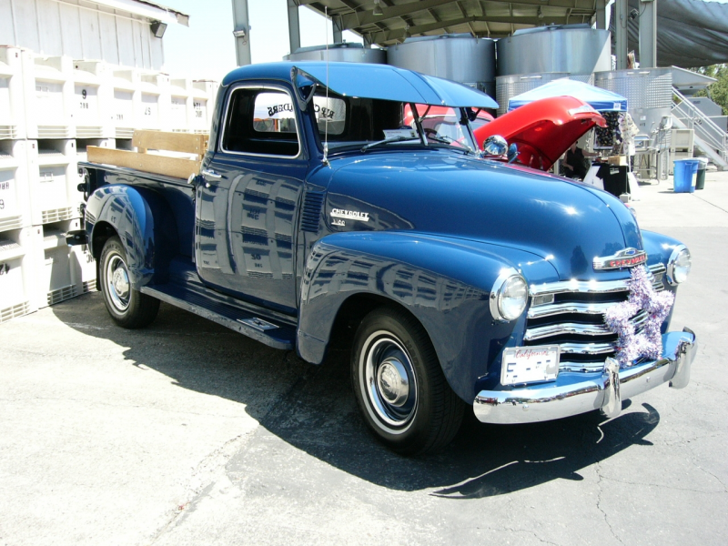 1950 Chevrolet pickup truck by RoadTripDog