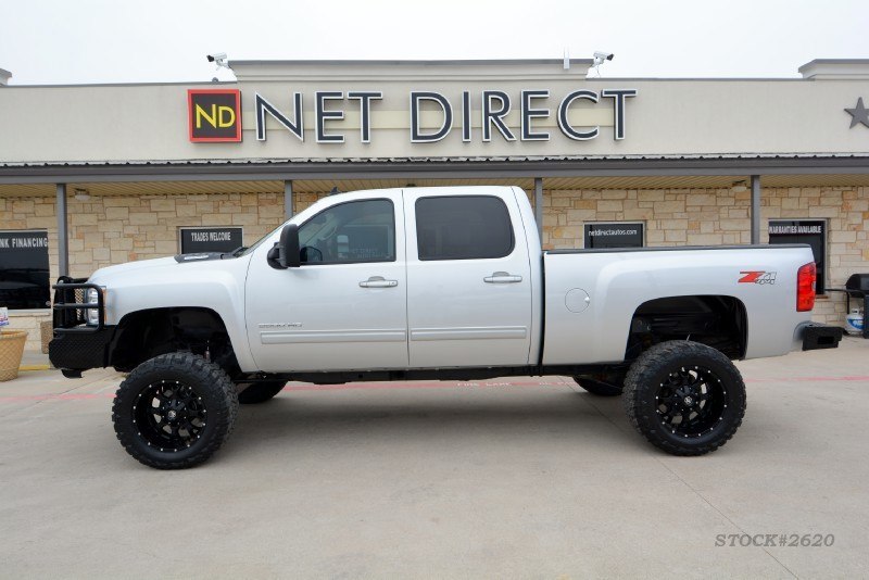 2011 Chevrolet Silverado 2500HD LTZ Z71 Crew Diesel LIFTED 4X4 in ,