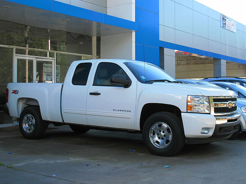 Description Chevrolet Silverado LT Z71 4x4 Cab 2011.jpg