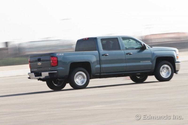 ... our 2014 Chevy Silverado 1500 Z71 LT had a date with the test track