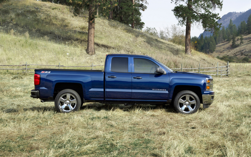 2014 Chevrolet Silverado 1500 Lt Z71 Right Side 2