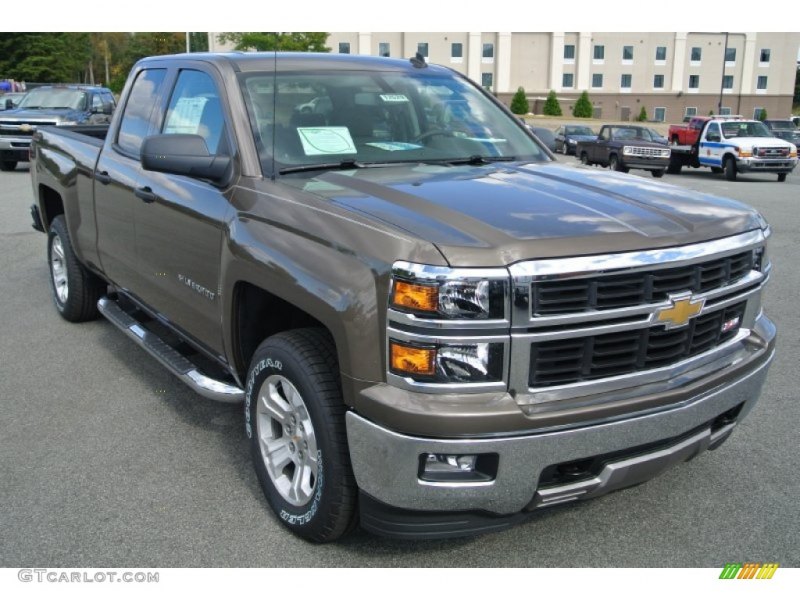 2014 Brownstone Metallic Chevrolet Silverado 1500 LT Z71 Double Cab ...