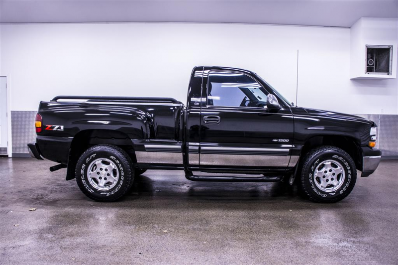 2001 Chevrolet Silverado 1500 Z71 Step Side 4x4