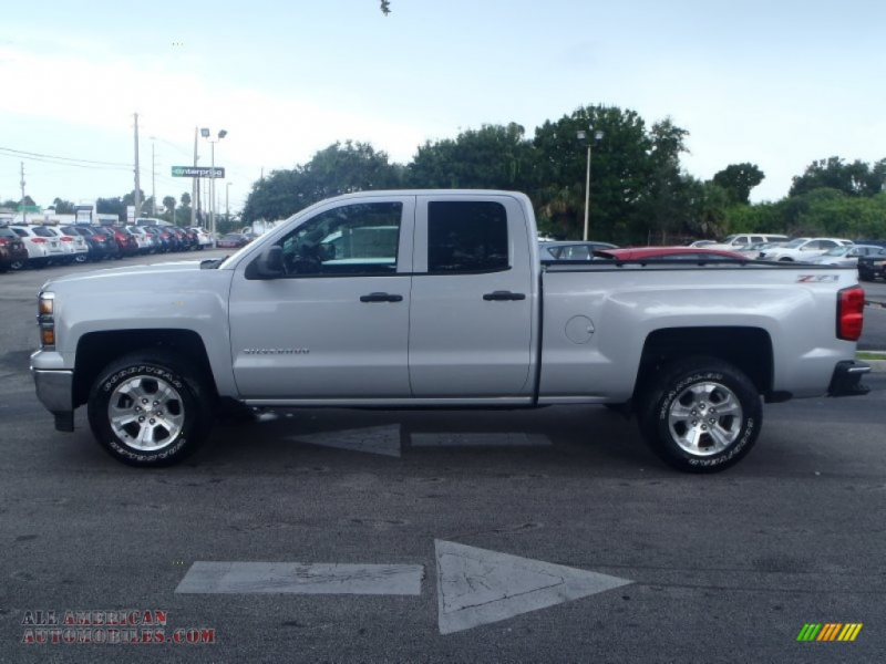 2014 Chevrolet Silverado 1500 LTZ Z71 Double Cab 4x4 in Silver Ice ...