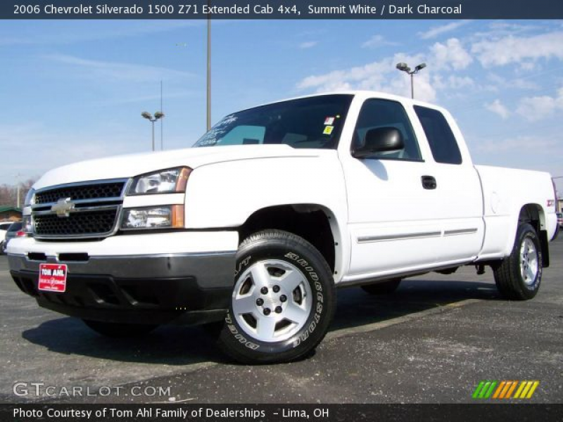 Summit White 2006 Chevrolet Silverado 1500 Z71 Extended Cab 4x4 with ...