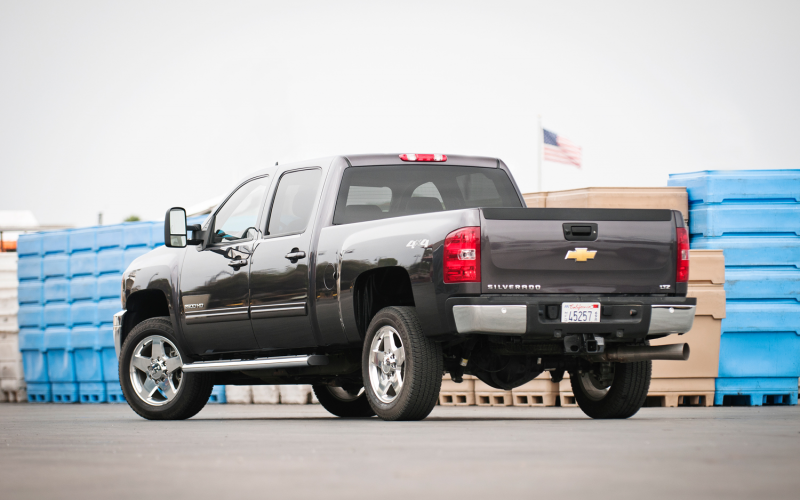 2011 Chevrolet Silverado 2500Hd Rear Three Quarters 2