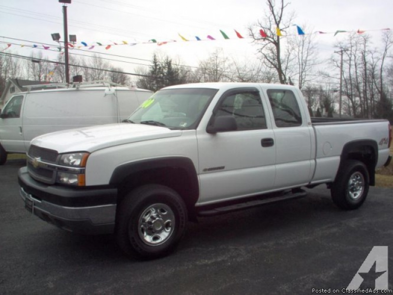 2004 CHEVY SILVERADO 2500 HD for sale in Duncansville, Pennsylvania