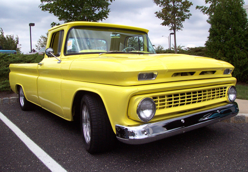 1963 Chevrolet Pickup Yellow