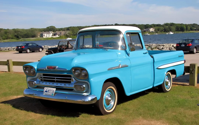 1958 Chevy Fleetside Pickup - Resin and Aftermarket - Model Cars ...