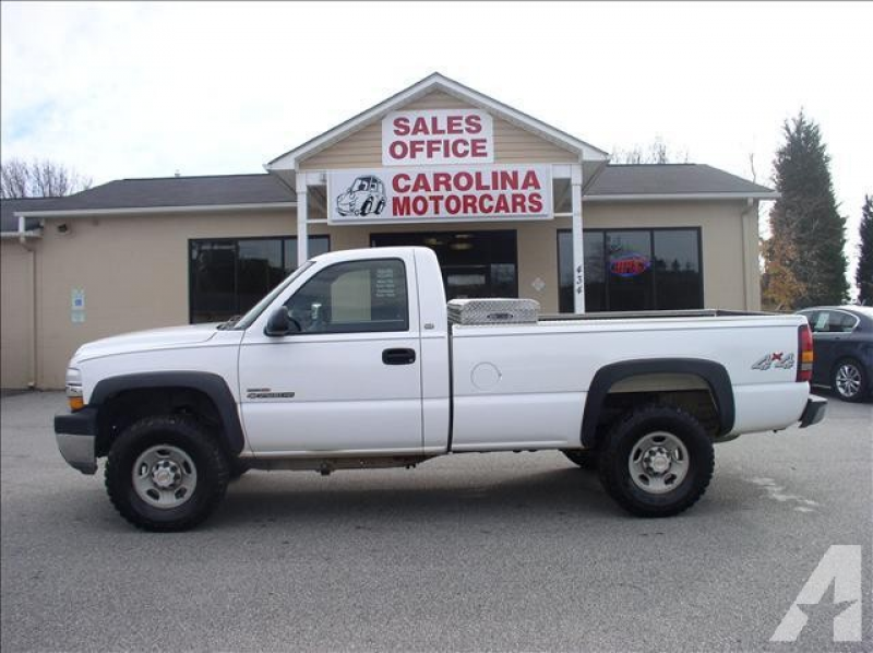 2001 Chevrolet Silverado 2500 H/D for sale in Youngsville, North ...