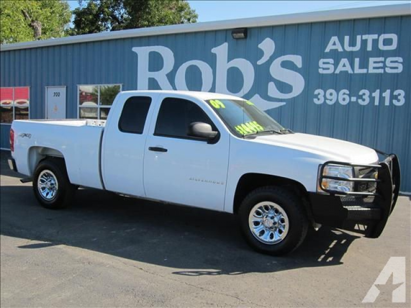 2009 Chevrolet Silverado 1500 Work Truck for sale in Skiatook ...