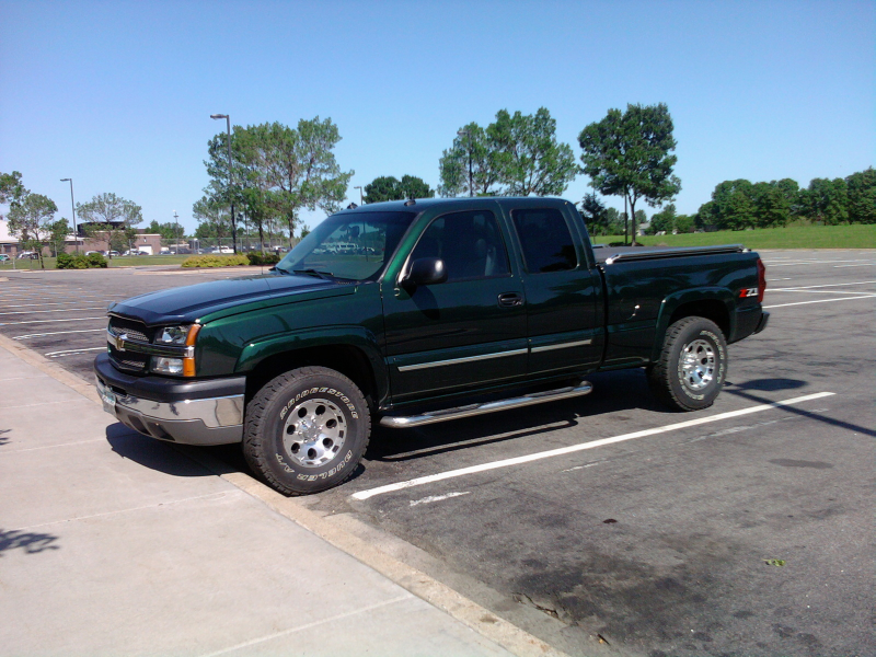 2003 Chevrolet Silverado 1500 LT Ext Cab Short Bed 4WD, After ...