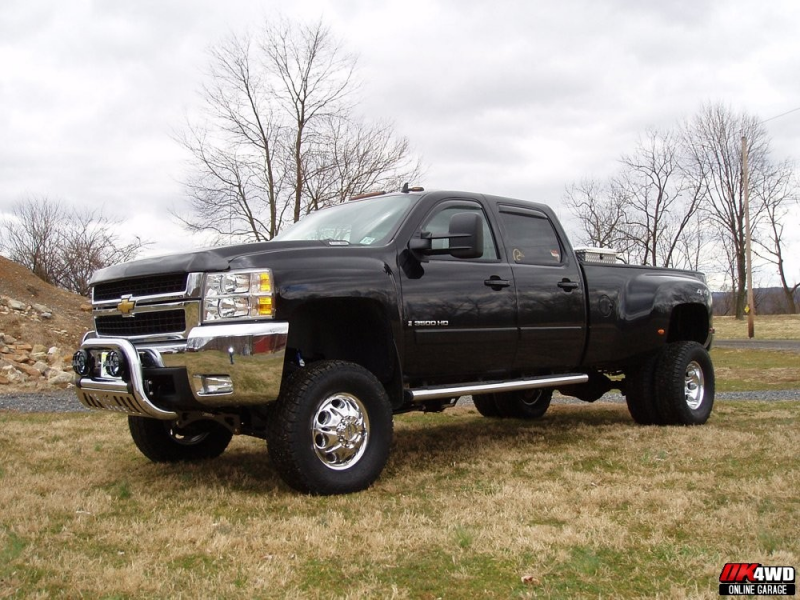 2008 Chevy 3500HD Silverado Dually Lift 6 Inches