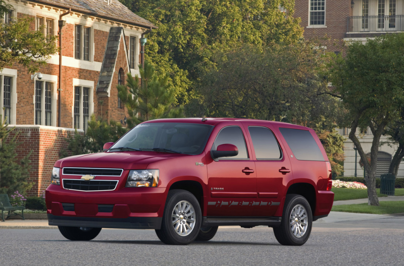 2012 Chevrolet Tahoe Hybrid in Red AA