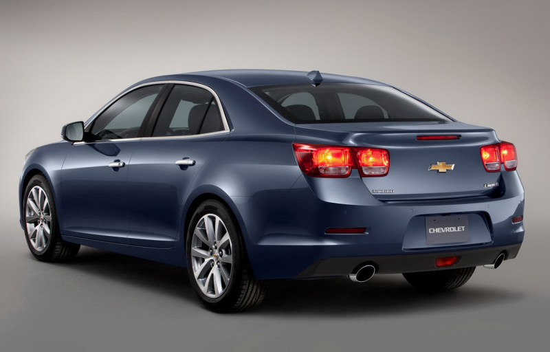 2013 Chevrolet Malibu Makes China Debut in Blue, will be Offered with ...
