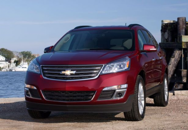 Redesigned 2016 Chevrolet Traverse