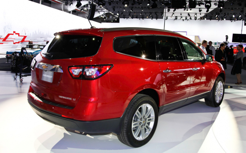 2016 Chevy Traverse Redesign and Release Date