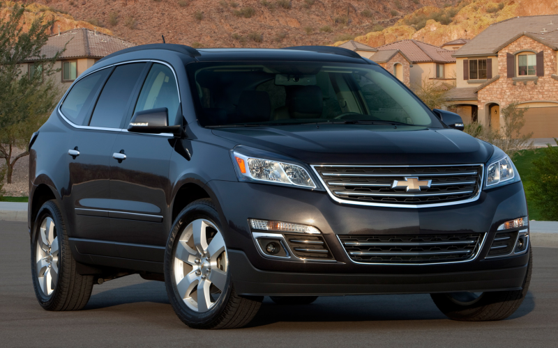 2013 Chevrolet Traverse Photo Gallery