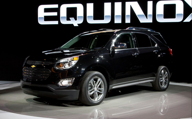 Enhanced 2016 Chevrolet Equinox