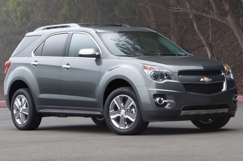 2014 Chevrolet Equinox Front Side View