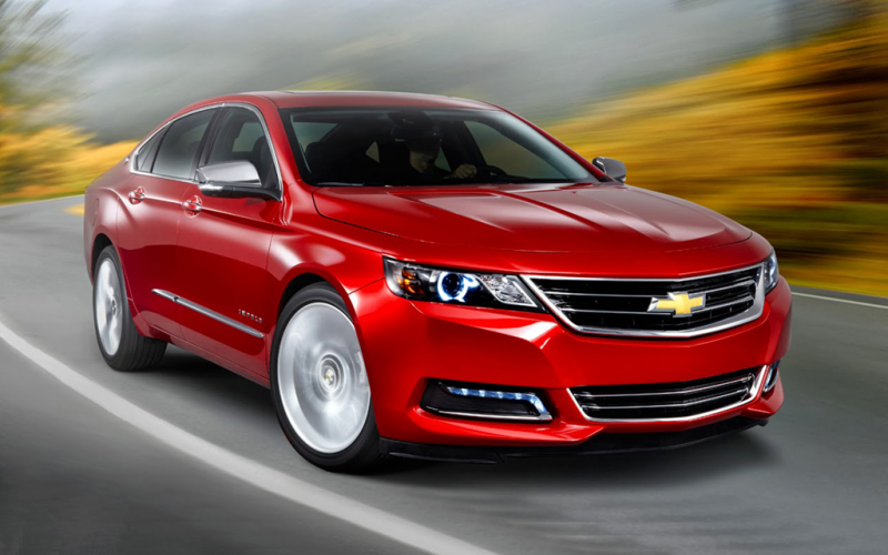 2016 Chevy Impala Exterior and Interior