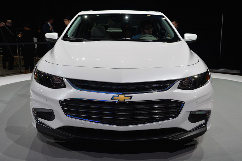 2016 Chevrolet Malibu: New York 2015