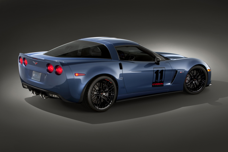 2011 Chevy Corvette Z06 Carbon Limited Edition Starts at $90,960