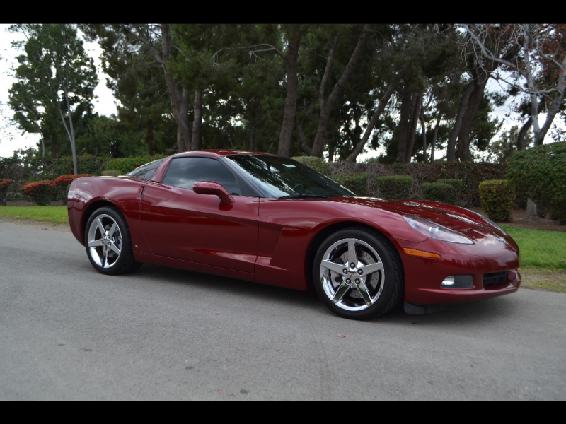 2007 Chevrolet Corvette Coupe Monterey Red