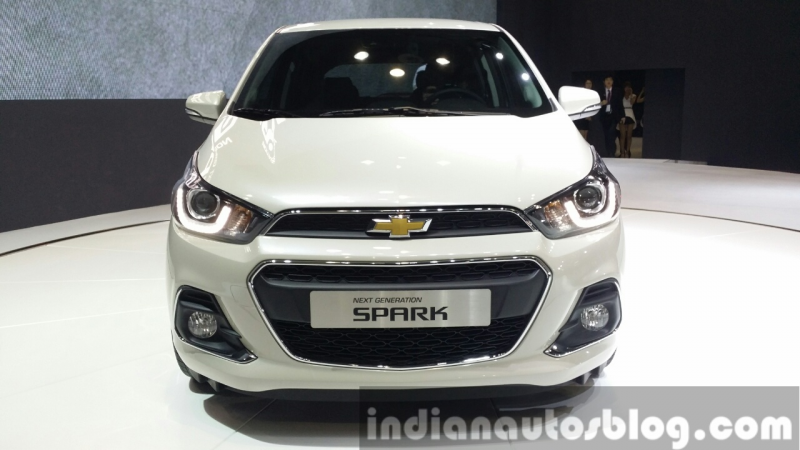2016 Chevrolet Spark at the Seoul Motor Show 2015 – Image Gallery