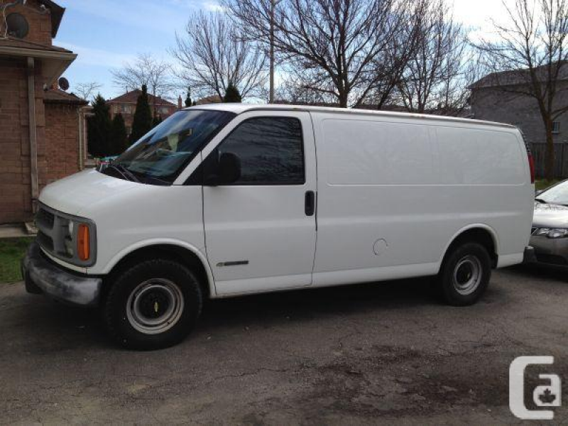 2002 Chevrolet Express 3500 - $5500 (Markham) in Toronto, Ontario for ...