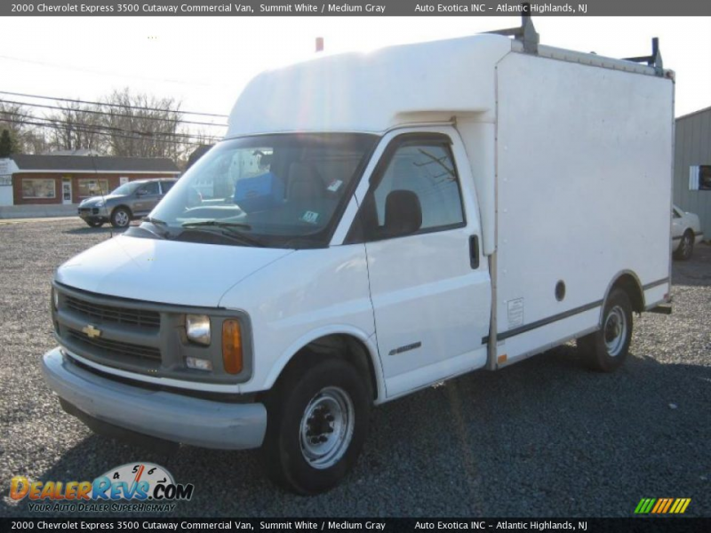 2000 Chevrolet Express 3500 Cutaway Commercial Van Summit White ...