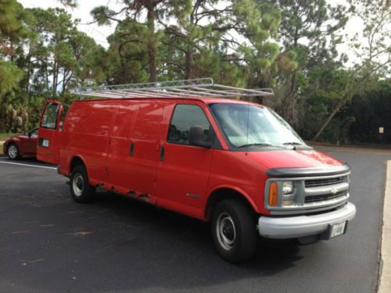 1997 Chevy 3500 Express Cargo/work Van on 2040-cars
