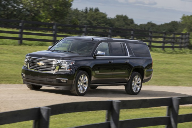 2016 Chevrolet Tahoe and Suburban Texas Edition