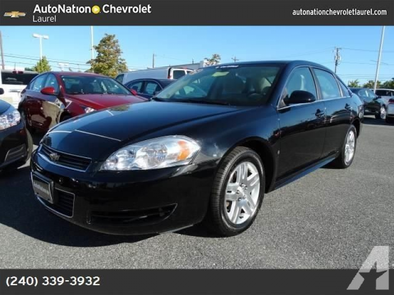 2009 Chevrolet Impala for sale in Laurel, Maryland