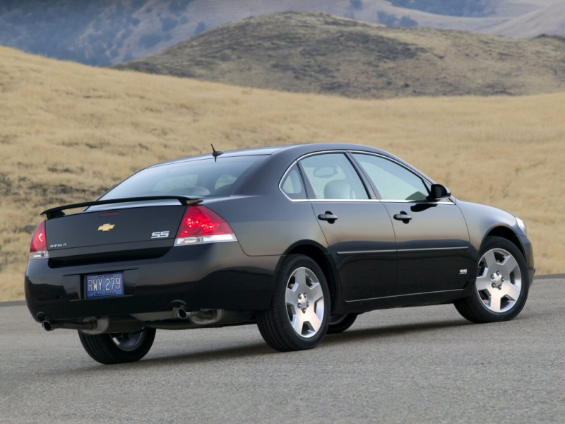 2006 Chevrolet Impala SS car specifications