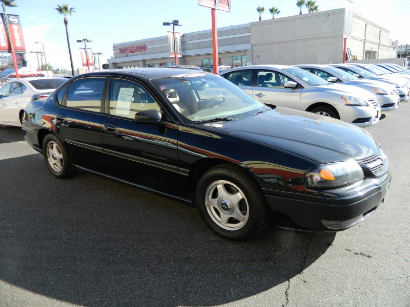 2001 Chevrolet Impala LS For Sale in Downey, CA - 2g1wh55k519326872