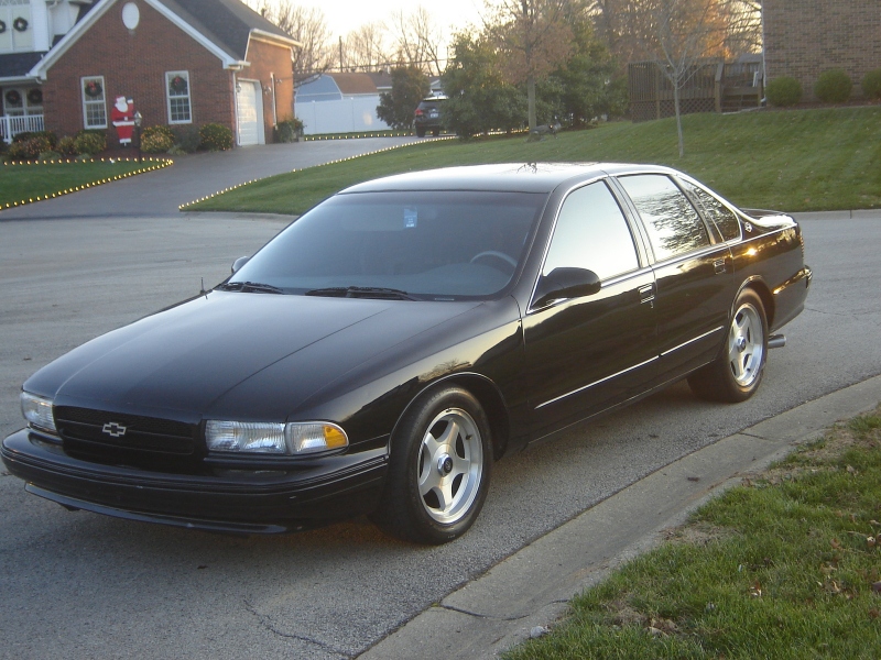 1995 Chevrolet Impala - Pictures - 1995 Chevrolet Impala 4 Dr SS ...