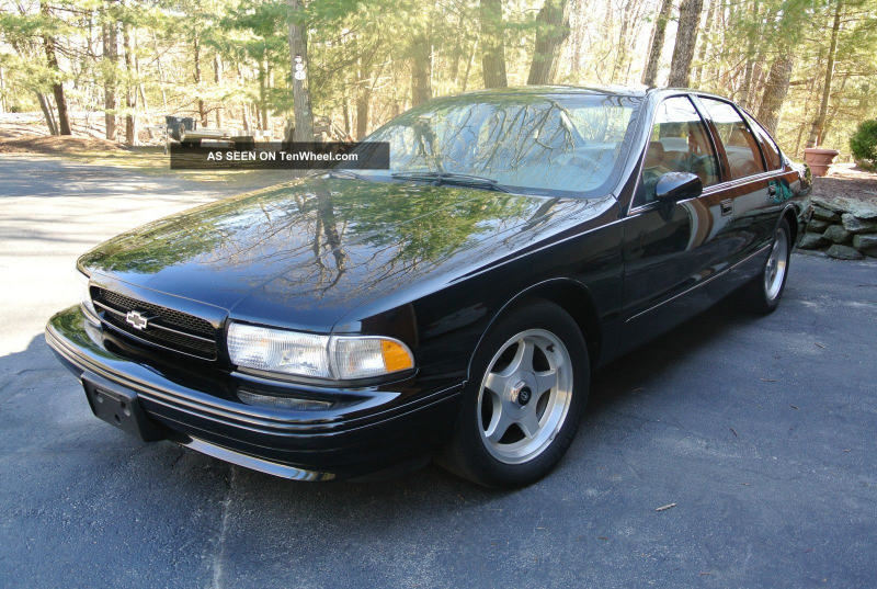 1994 Chevrolet Impala Ss Sedan 4 - Door 5. 7l Impala photo