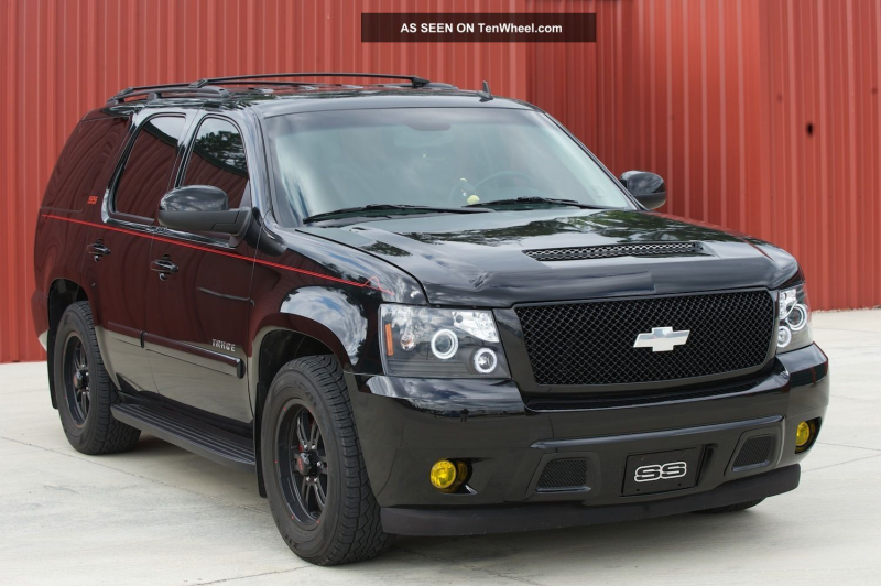 2009 Chevy Tahoe Ss Conversion Tahoe photo