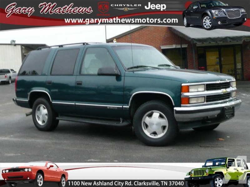 1996 Chevrolet Tahoe for sale in Clarksville, Tennessee