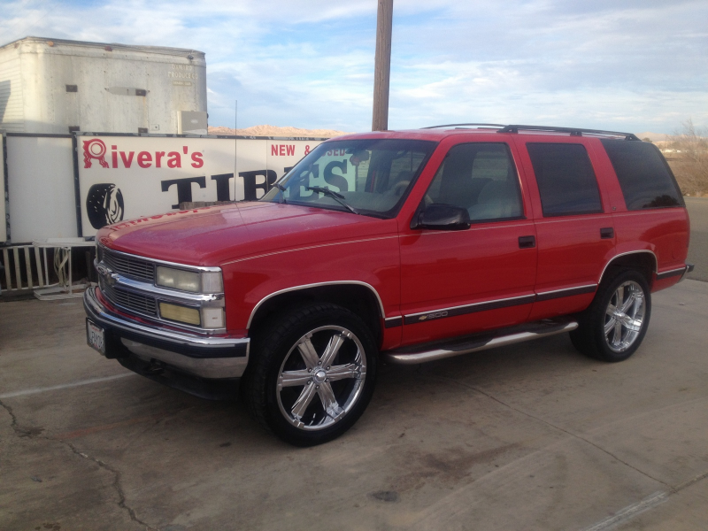 Picture of 1995 Chevrolet Tahoe 4 Dr LT 4WD SUV, exterior