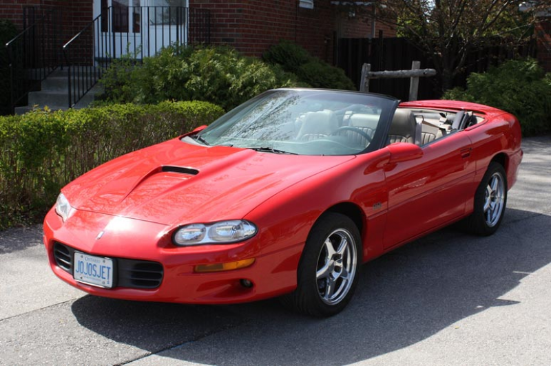 Red 2000 Chevrolet Camaro Convertible
