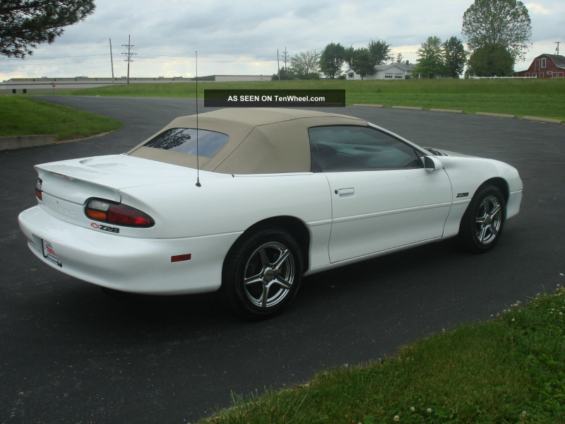 1999 Chevrolet Camaro Z28 Convertible 2 - Door 5. 7l Camaro photo 6