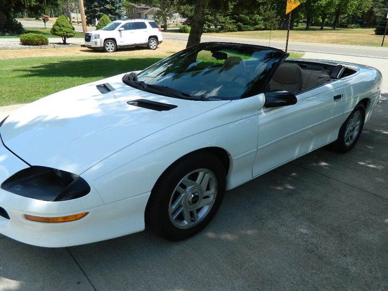 Picture of 1996 Chevrolet Camaro RS Convertible, exterior