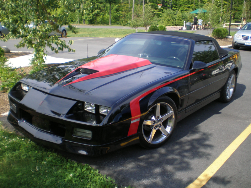 Picture of 1989 Chevrolet Camaro RS Convertible, exterior
