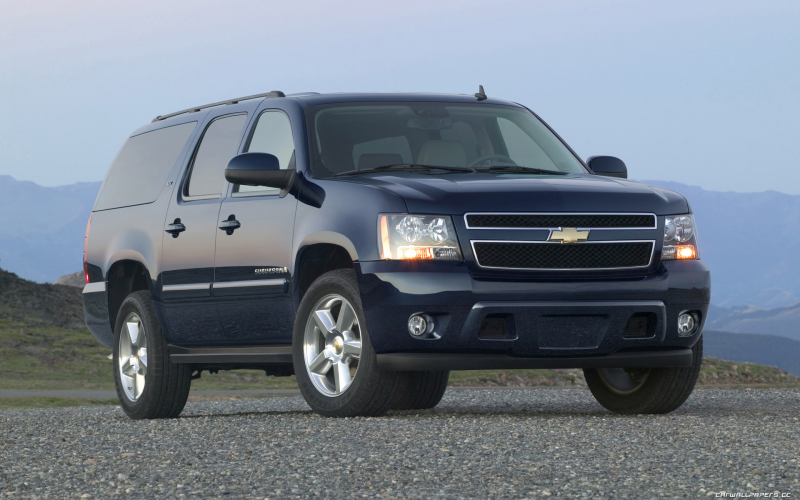 Car wallpapers Chevrolet Suburban LTZ - 2007